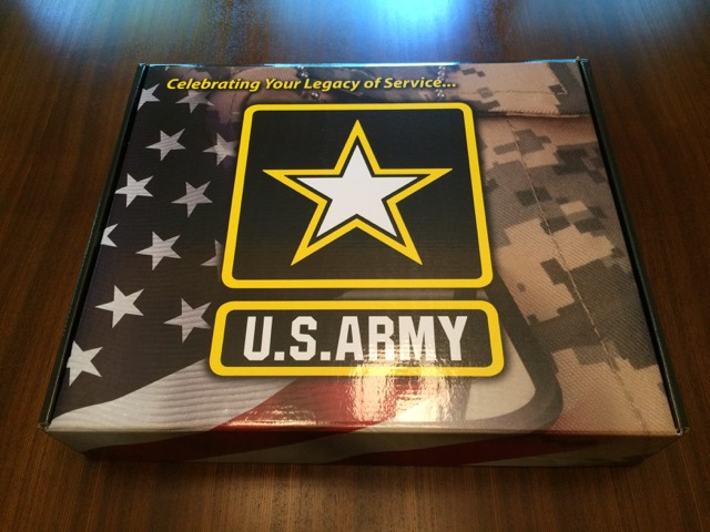 Steven Combs Army Retirement Package
