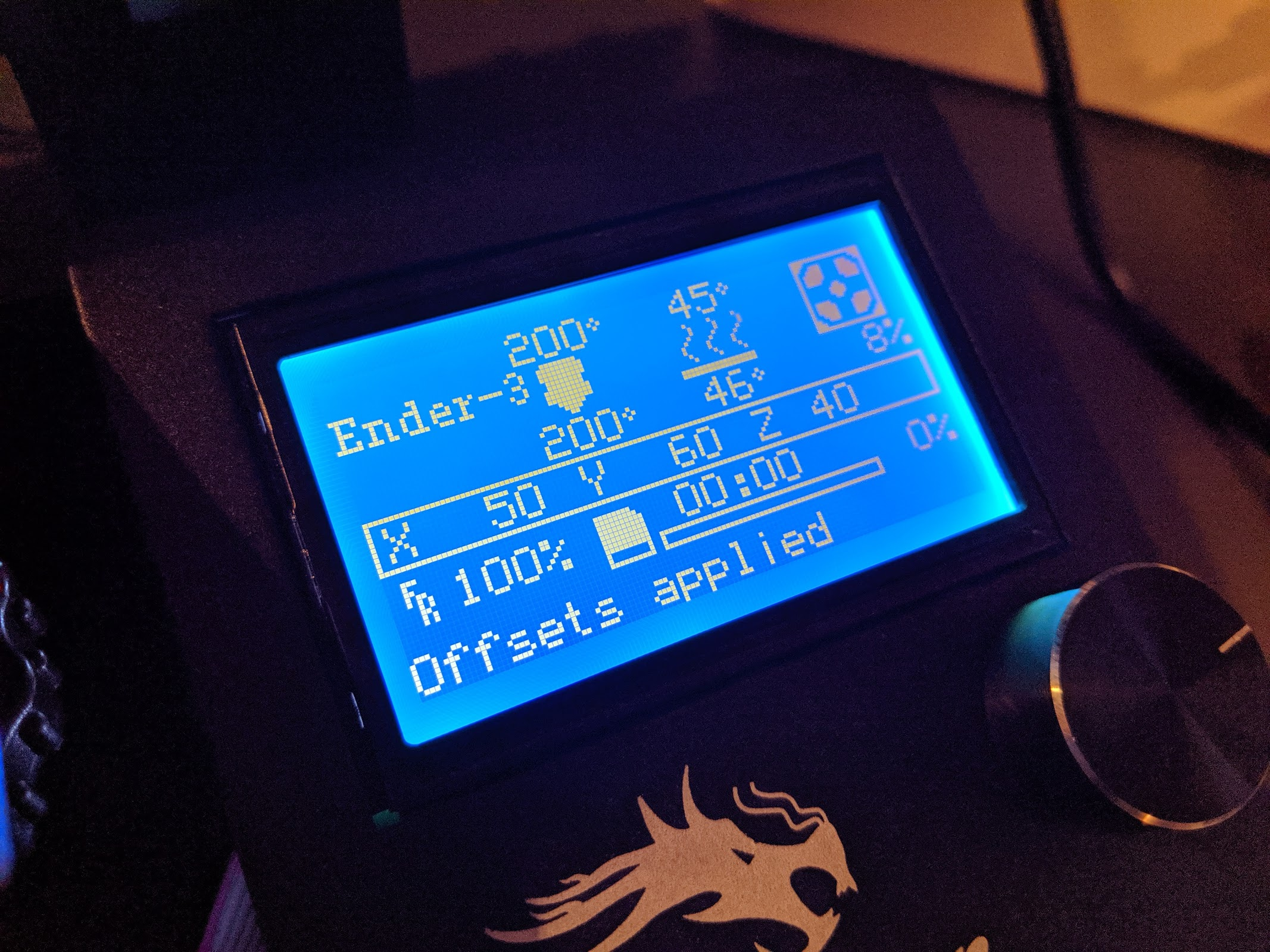 Steven Combs - Set up the Creality Ender-3 for first print