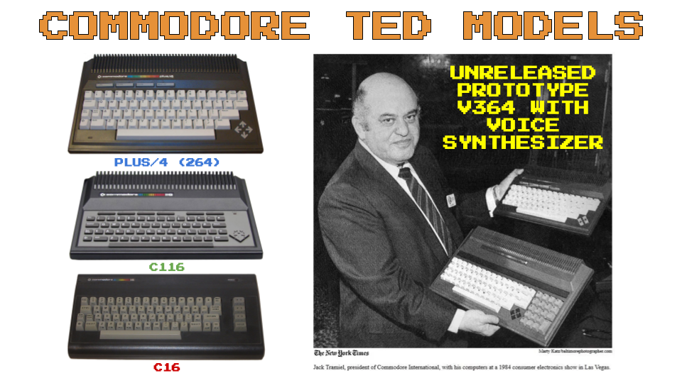 Commodore TED Series